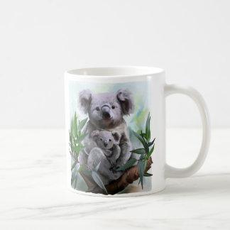 Koala and her baby coffee mug