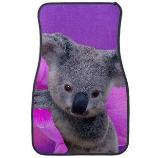 Koala and Orchids Car Carpet