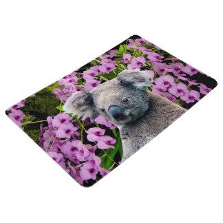 Koala and Orchids Floor Mat