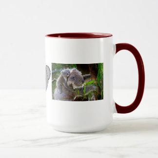 Koala Bear Aussi Safari Peace Love Nature Destiny Mug