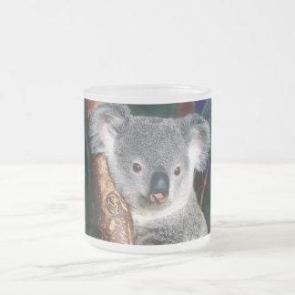 Koala Bear Australia Outback Country Animal Cute Frosted Glass Coffee Mug