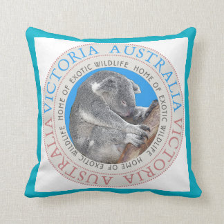 Koala Bear Australia Throw Pillow