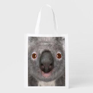 Koala Bear Reusable Grocery Bags