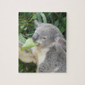 Koala Eating Gum Leaf Puzzle
