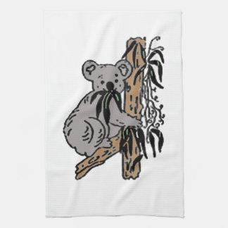 Koala Eating Kitchen Towel