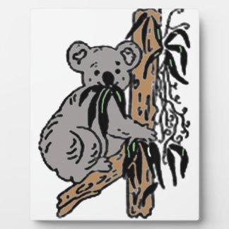 Koala Eating Plaque