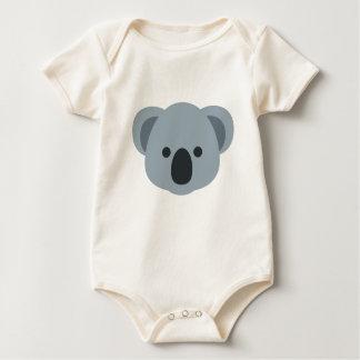 Koala emoji baby bodysuit