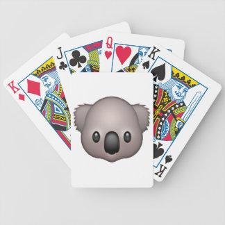 Koala - Emoji Bicycle Playing Cards