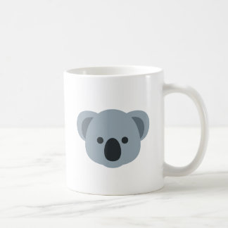 Koala emoji coffee mug