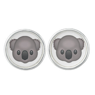 Koala Emoji Cufflinks