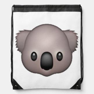 Koala - Emoji Drawstring Bag
