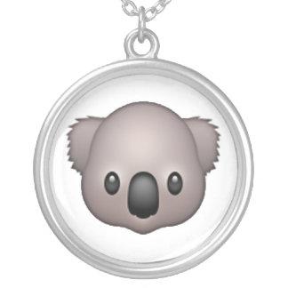 Koala - Emoji Silver Plated Necklace
