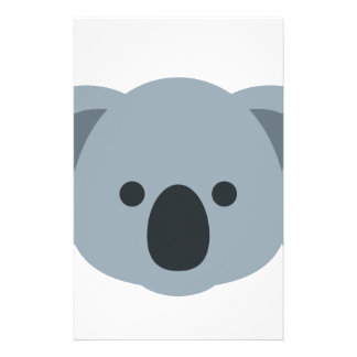 Koala emoji stationery