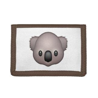 Koala - Emoji Trifold Wallet