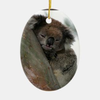 Koala - Energy Conservationist Extraordinaire! Ceramic Ornament