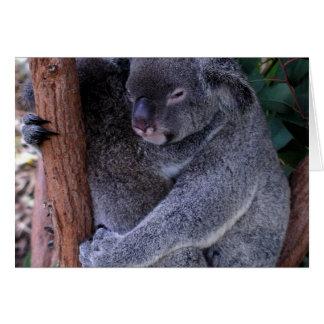 Koala Family Greeting Card