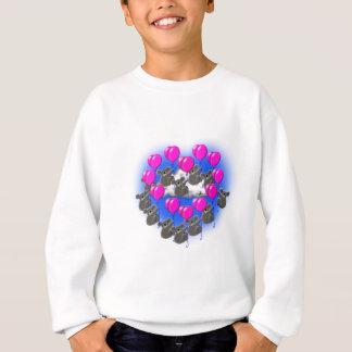 koala flying formation team  ( heart ) sweatshirt