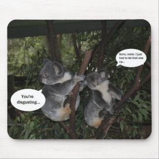 Koala fun mouse pad