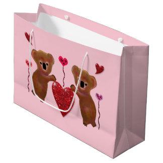 Koala Hearts Gift Bags