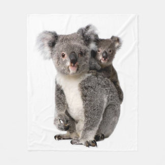Koala image for Fleece Blanket
