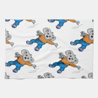 Koala in Jeans Hand Towels