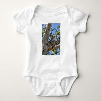 KOALA IN TREE AUSTRALIA ART EFFECTS BABY BODYSUIT