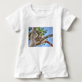 KOALA IN TREE AUSTRALIA ART EFFECTS BABY ROMPER