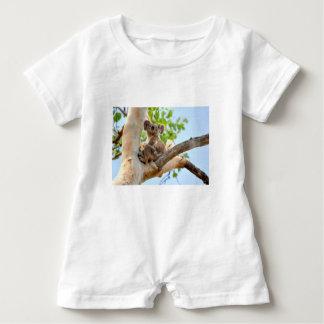 KOALA IN TREE QUEENSLAND AUSTRALIA BABY ROMPER