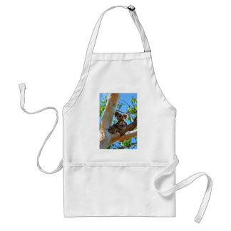 KOALA IN TREE QUEENSLAND AUSTRALIA STANDARD APRON