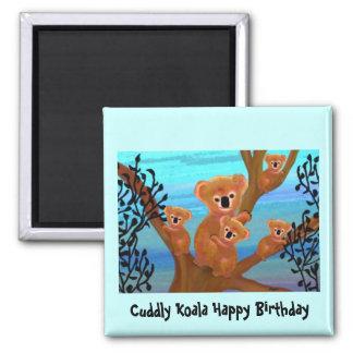 Koala Love Birthday Magnet