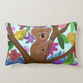 Koala Love Lumbar Pillow