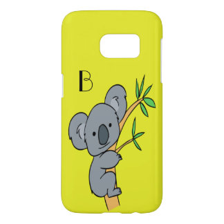 Koala Monogram Samsung Galaxy S7 Case