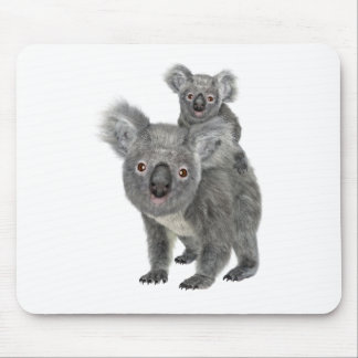 Koala Mother and Child Mouse Pad