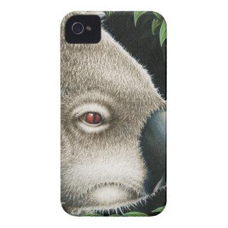 Koala Munching a Leaf iPhone 4 Cases