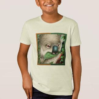 Koala Munching a Leaf Kids T-Shirt