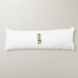 koala ranger with hat Zgvje Body Pillow