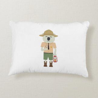 koala ranger with hat Zgvje Decorative Pillow