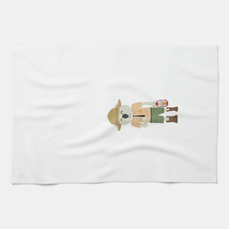 koala ranger with hat Zgvje Kitchen Towel