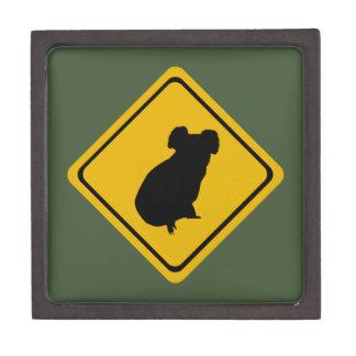 koala road sign premium gift box