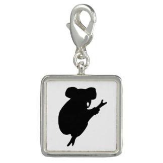 Koala Silhouette Charm