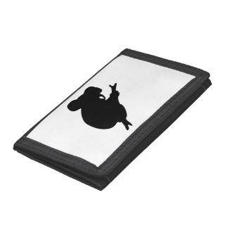Koala Silhouette Tri-fold Wallets
