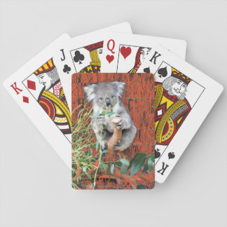 Koala Snack Time Playing Cards