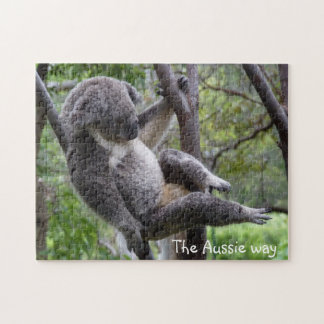 koala - the Aussie way jigsaw puzzle