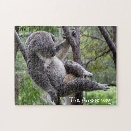 koala - the Aussie way jigsaw puzzle