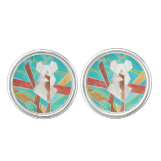 Koala Watercolor Art Cufflinks