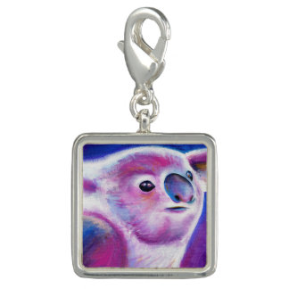 Koala whimsical painting art charm