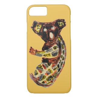 Koala Wild Animal Aboriginal Art iPhone 7 Case