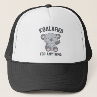 Koalafied For Anything Trucker Hat