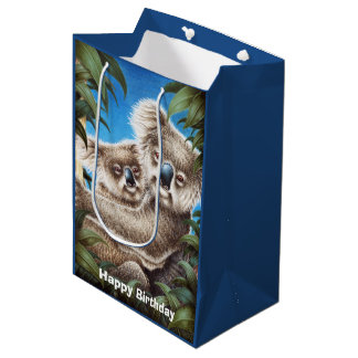 Koalas Medium Gift Bag