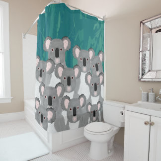 Koalas Shower Curtain